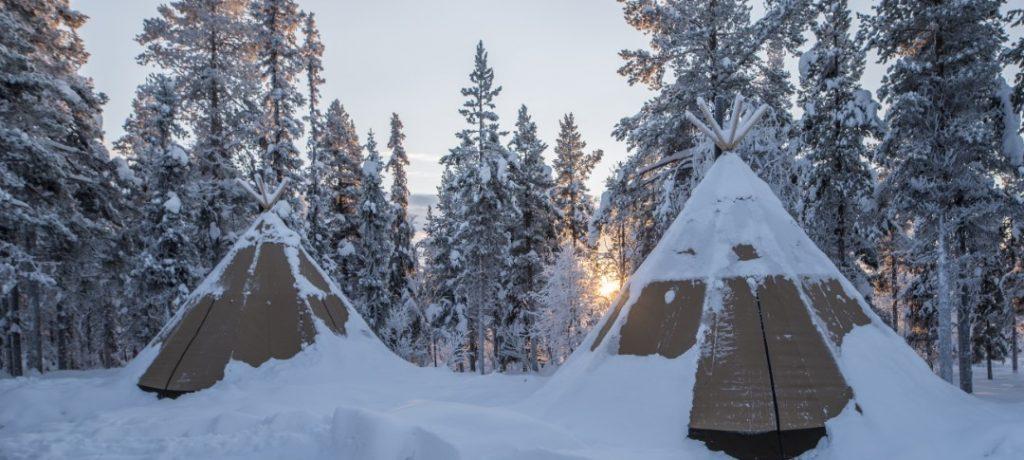 Sapmi Nature Camp, Zweeds Lapland, Zweden