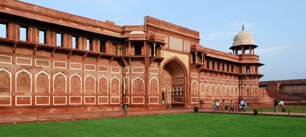 Fort in Agra. Foto: © Sanyam Bahga