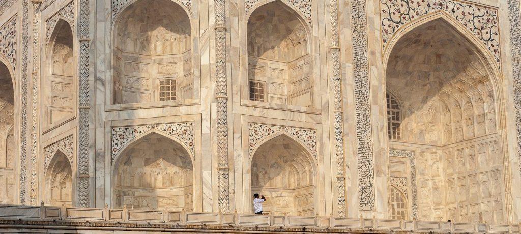 Taj Mahal in Agra. Foto: © Ylliab