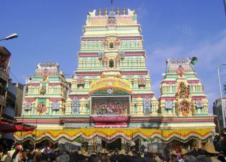 Bangalore - Shri Dharamaraya Swamy tempel - Thigala Shri
