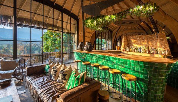 Restaurant Bisate Lodge, Rwanda