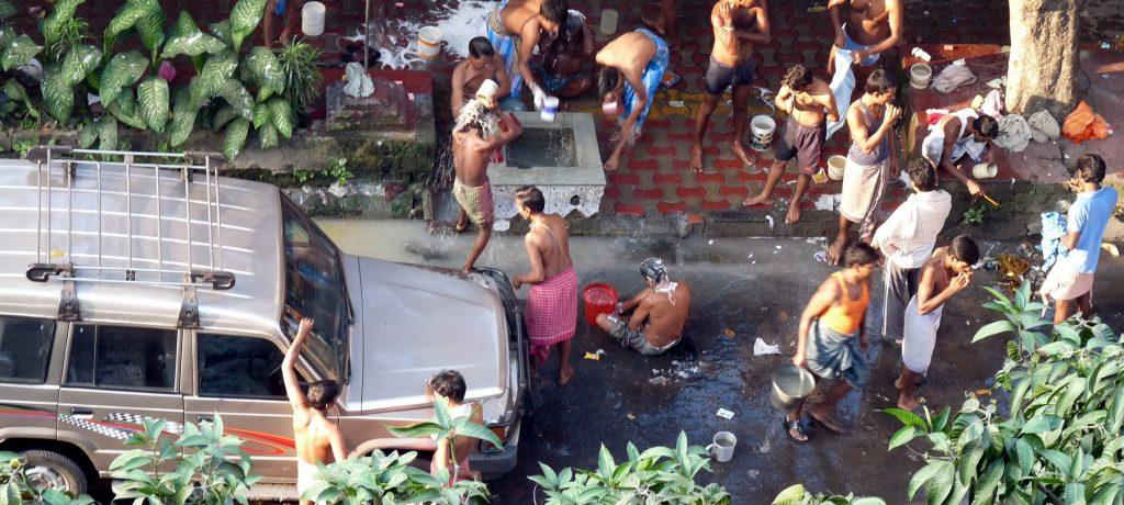 Calcutta. Foto: © Steve Browne & John Verkleir