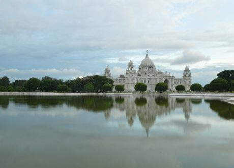 Foto: © Shirish Mulmuley. Victoria Memorial in Calcutta.