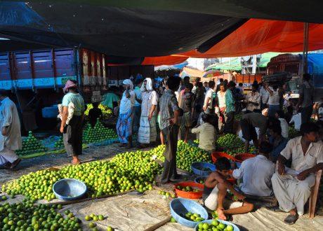 Markt in Calcutta. Foto: © Abhijit Kar Gupta