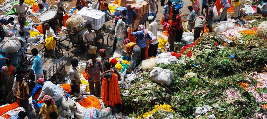 Markt in Calcutta. Foto: © Paolo Mutti
