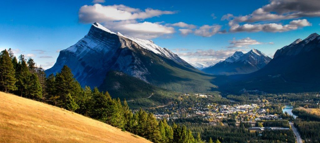 Rundle Mountain, Banff, Canada