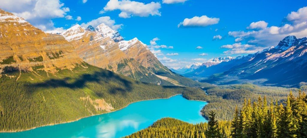 Peyto Lake, Icefields Parkway, Canada