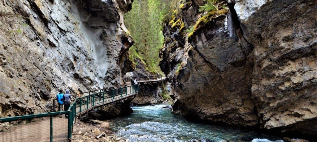 Johnston Canyon, Icefields Parkway, Canada