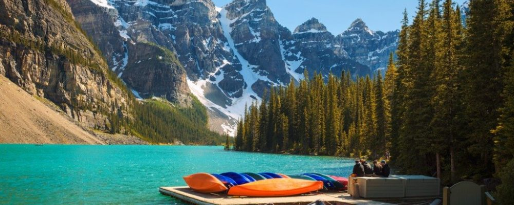 Moraine Lake, Icefields Parkway, Canada