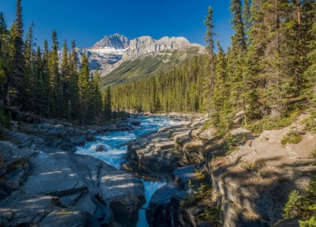 Mistaya Canyon, Icefields Parkway, Canada