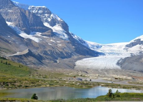 Columbia Icefield, Icefields Parkway, Canada