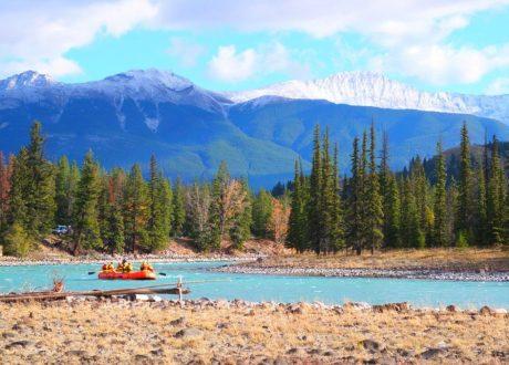 Athabasca River, Jasper, Canada