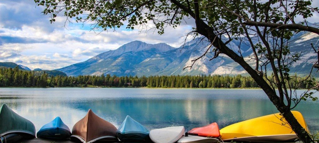 Edith Lake, Jasper, Canada