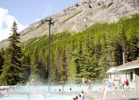 Miette Hot Springs, Jasper, Canada