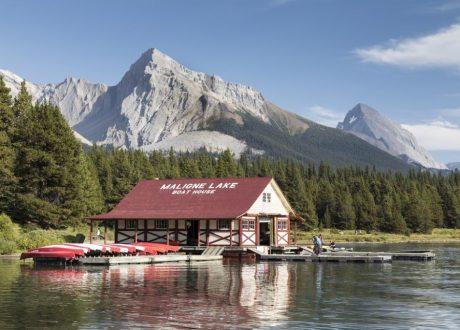 Maligne Lake, Jasper, Canada