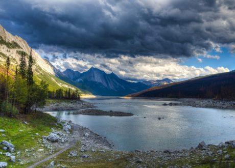Medicine Lake, Jasper, Canada