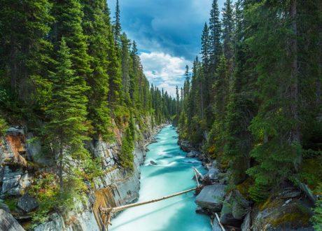 Marble Canyon, Kootenay, Canada