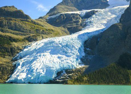 Berg Glacier, Mount Robson, Canada