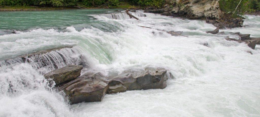 Rearguard Falls, Mount Robson, Canada