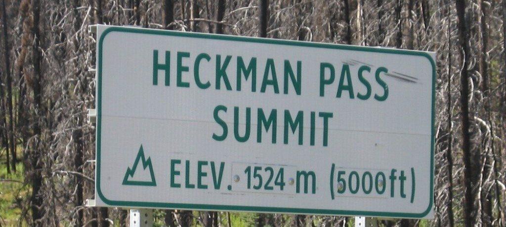 Heckmann Pass, Tweedsmuir, Canada