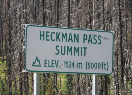 Heckmann Pass, Tweedsmuir, Canada