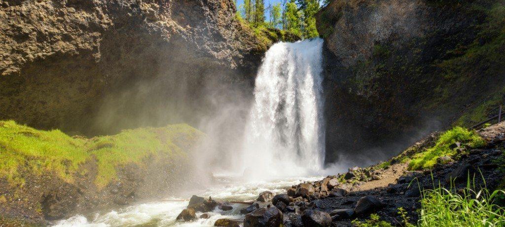 Moul Falls, Wells Gray, Canada