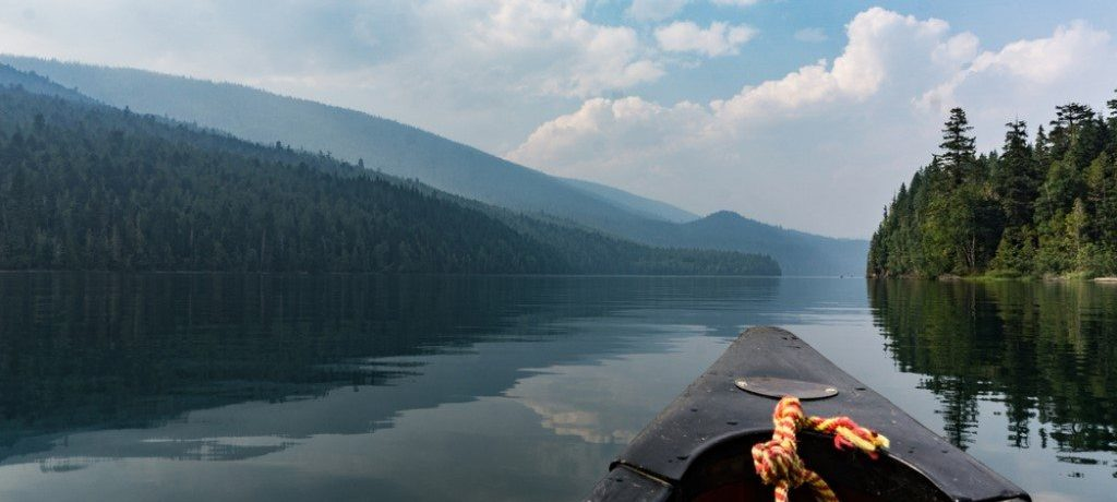 Clearwater Lake, Wells Gray, Canada