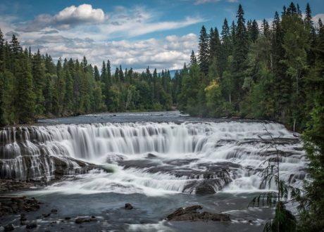 Dawson Falls, Wells Gray, Canada
