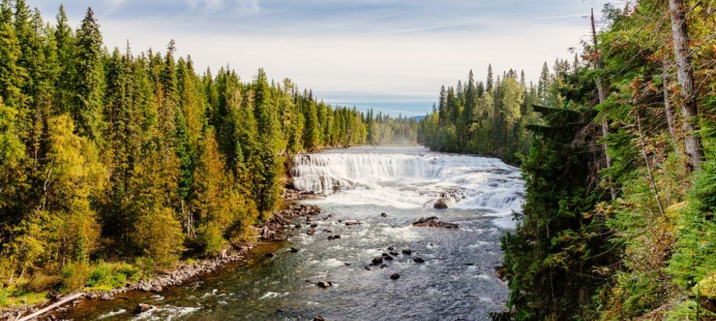 Murtle River, Wells Gray, Canada