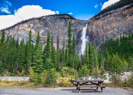 Takkakaw Falls, Yoho, Canada