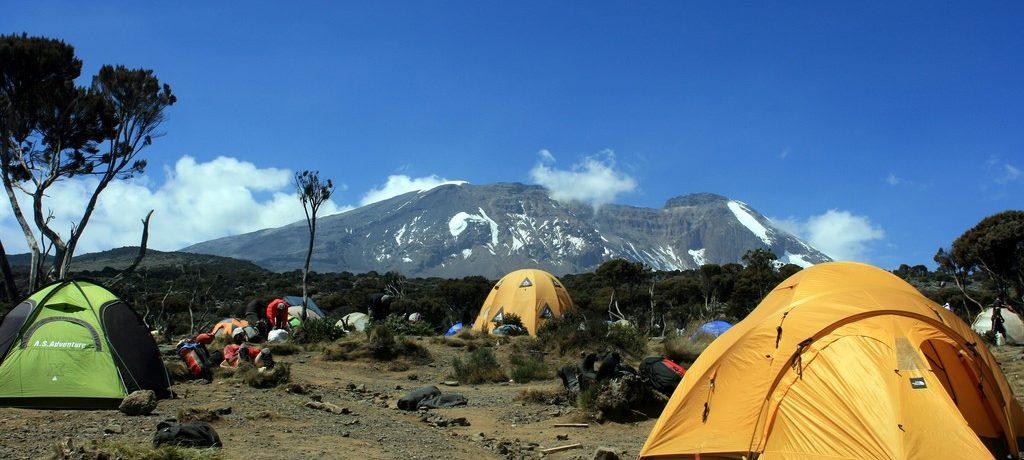Climbin Kilimanjaro - Machame Shira camp - Abir Anwar