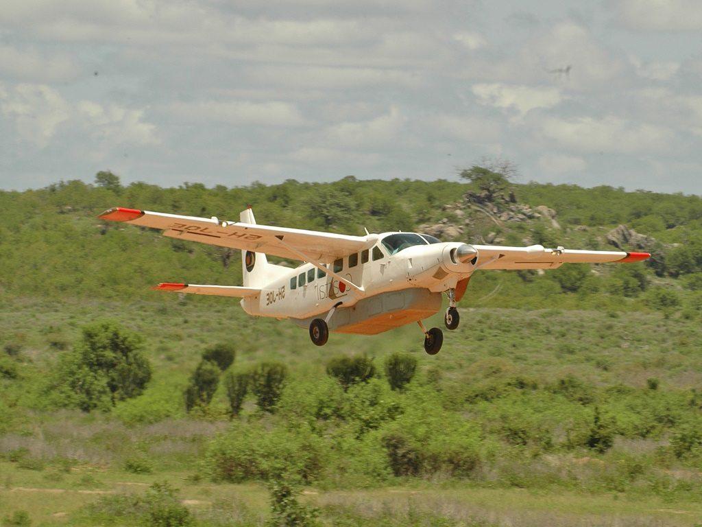 Tanzania Airstrip, Bush vliegtuig