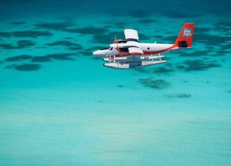 Malediven watervliegtuig transfer