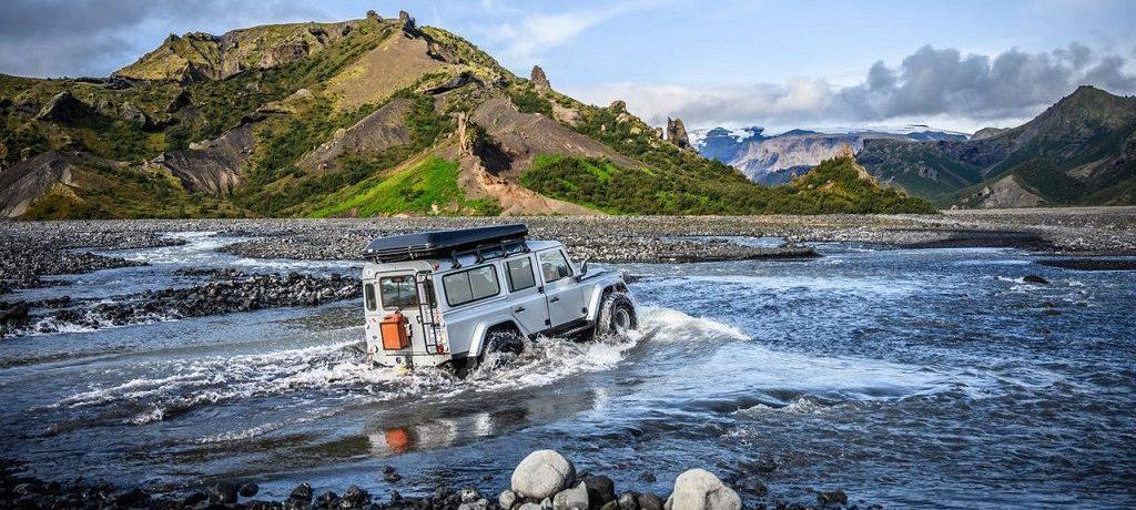 Selfdrive, Jeepsafari, De hooglanden, IJsland