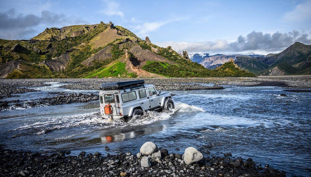 Avontuurlijke reizen IJsland