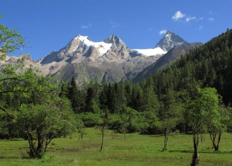 Four Sisters Mountains