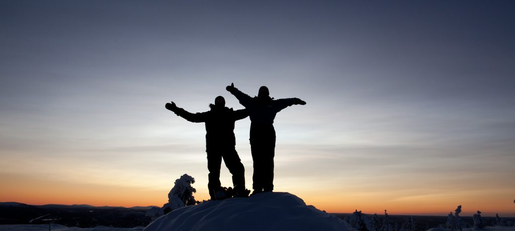Weekend Huskysafari Fins Lapland