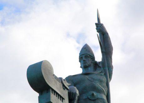Arnarhvoll: de stichter van IJsland, Reykjavik