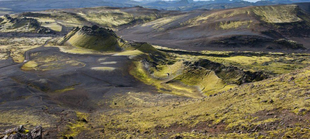 Lakagigar, Zuid IJsland