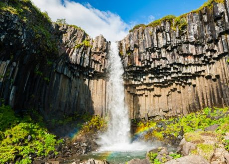 Svartifoss, Zuid IJsland