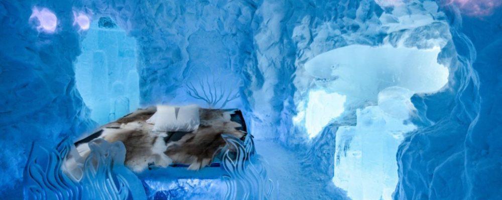Winter Icehotel & Icehotel 365, Zweeds Lapland, Zweden