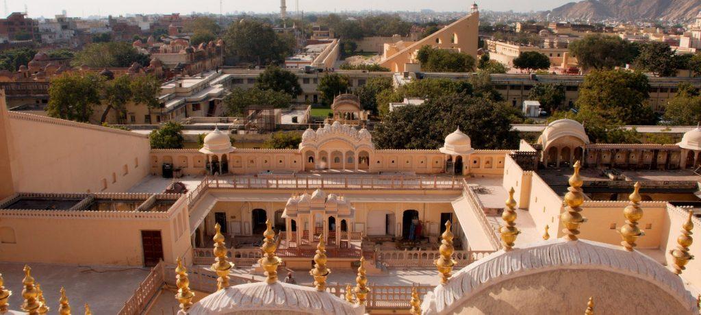Hawa Mahal in Jaipur. Foto: © Christian Haugen