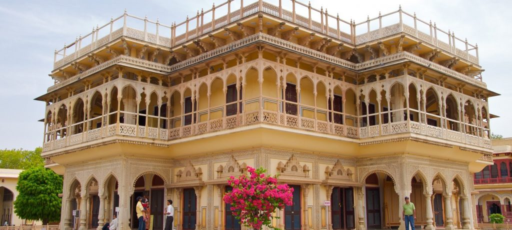Mubarak Mahal in Jaipur. Foto: © Jon Connell