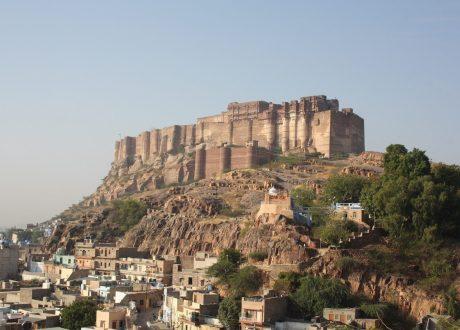 Mehrangarh Fort in Jodhpur. Foto: © Michimaya