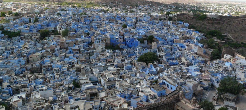 Jodhpur, blauwe stad. Foto: © Varun Shiv Kapur