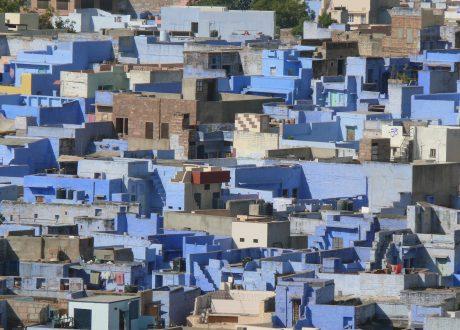 Jodhpur, blauwe stad. Foto: © Zen Skillicorn