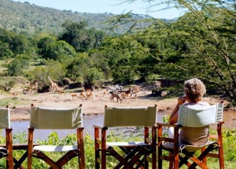 Karen Blixen Camp the river bed