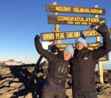 Kilimanjaro beklimmen - Nanda & Jille Tabak