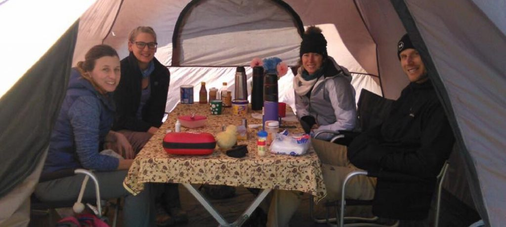 Mess tent 1-4 pers 1 (groot)