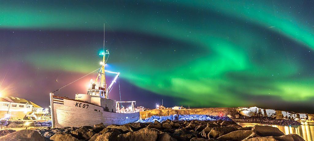 Orka safari & noorderlicht, ReykjavikIJsland